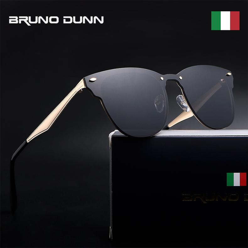 532cc01720 BRUNO DUNN 2018 new fashion summer luxury Brand designer Unisex Retro  Aluminum male female ladies Sunglasses