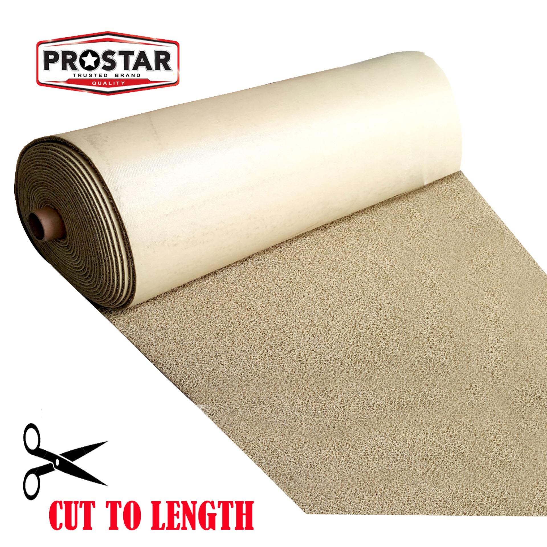 4ft X 26ft (beige) Rubber Car Matting/spagetti Matting/no Dirt Matting- Cut Your Own,custom Fit By The Store.