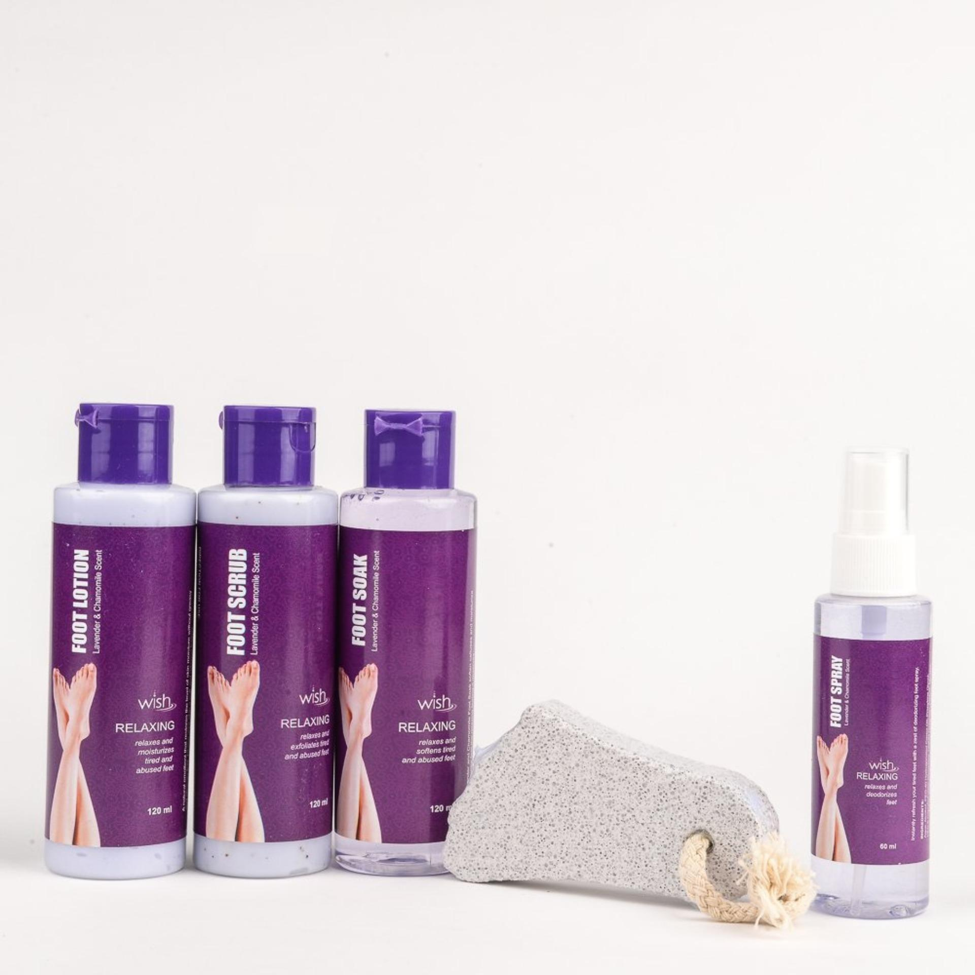 467b36a2db2d Wish Lavender And Chamomile Foot Spa Set 5Pc Set