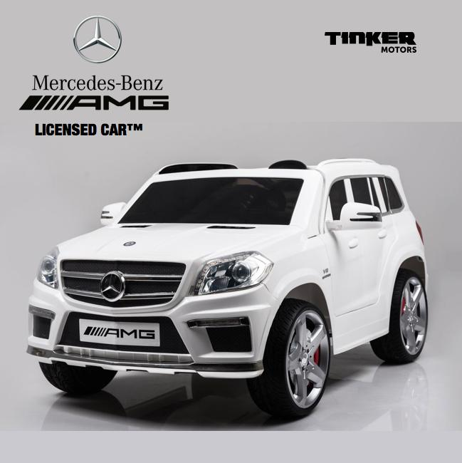 Tinker Motors ™ Licensed Mercedes Benz GL63 AMG Kids Luxury Ride On  Electric Car With Remote