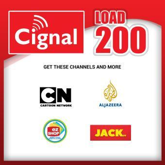 Cignal Prepaid Plan 200