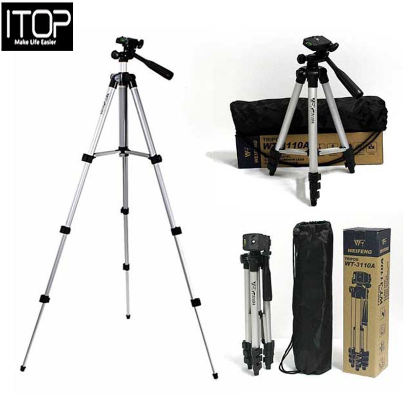 ITOP 3110 Aluminum tripod digital camera tripod stand tripod mobile phone Selfie stand