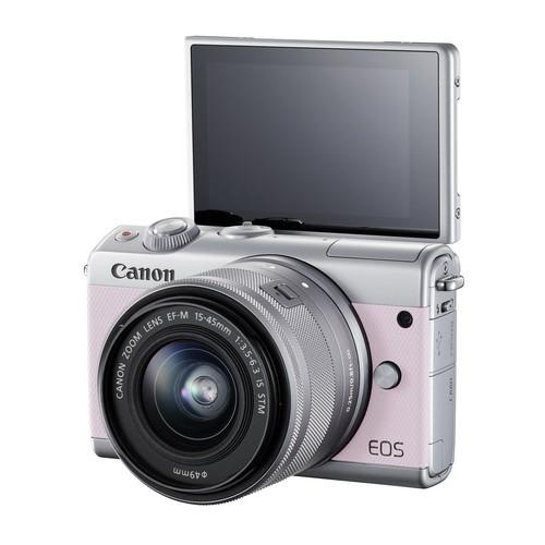 50b20ce905559e Canon M100 EF 15-45MM Lens Mirrorless Camera 24.2MP Digic7 3.0
