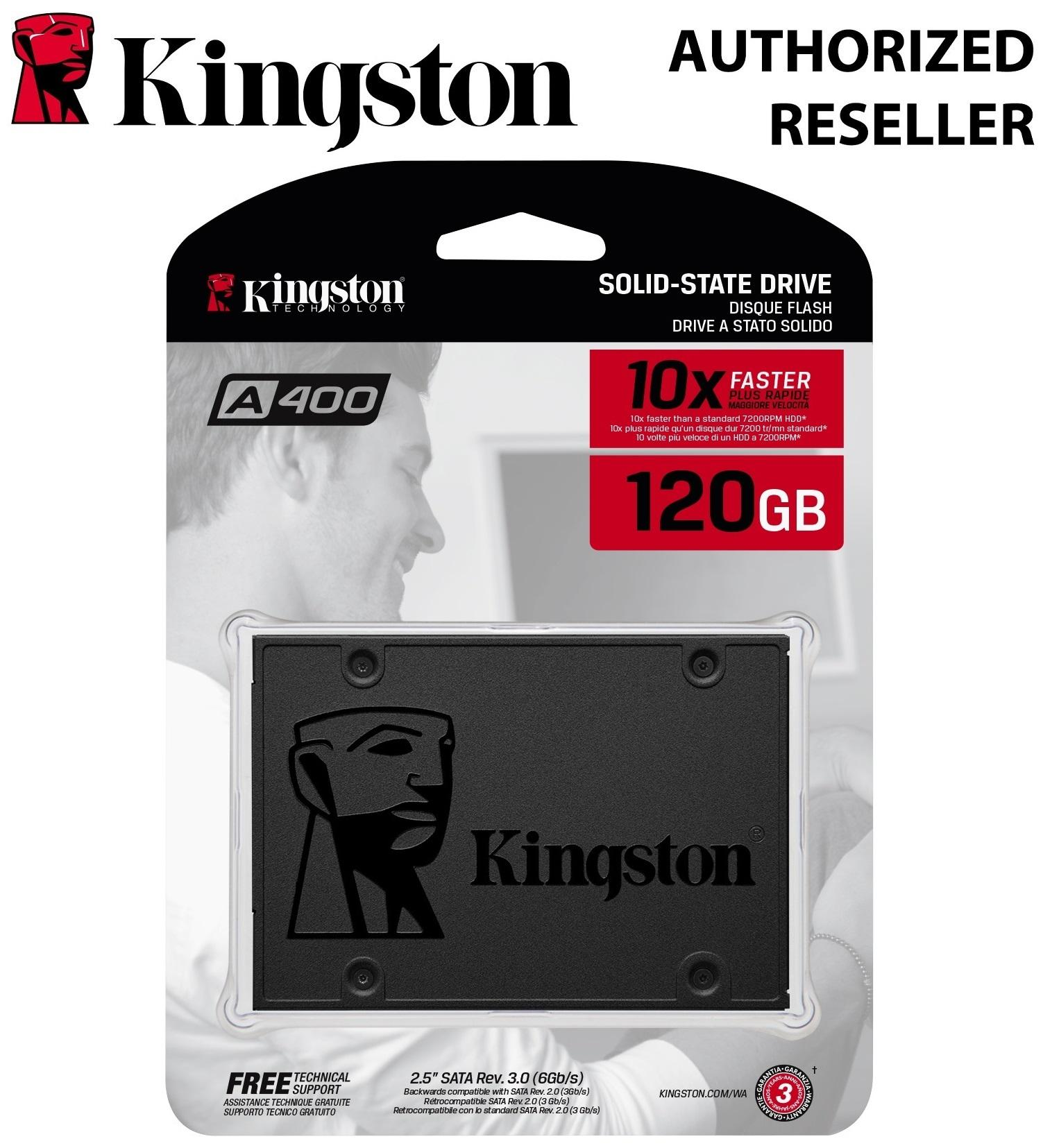 Kingston Philippines Price List Sd Card Flasdisk 4gb A400 Ssdnow Ssd 120gb 25 Solid State Drive Increase Performance