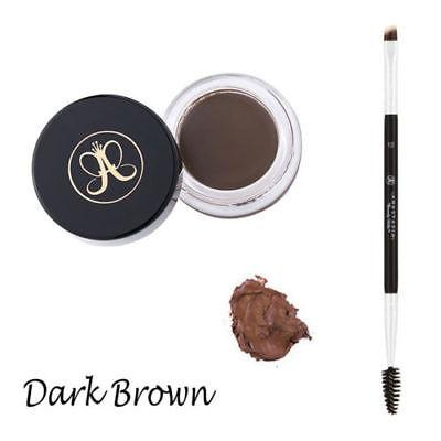 JBox# Anastasia Dipbrow Pomade Eyebrow ( DARK BROWN ) With Free #12 Brush Philippines