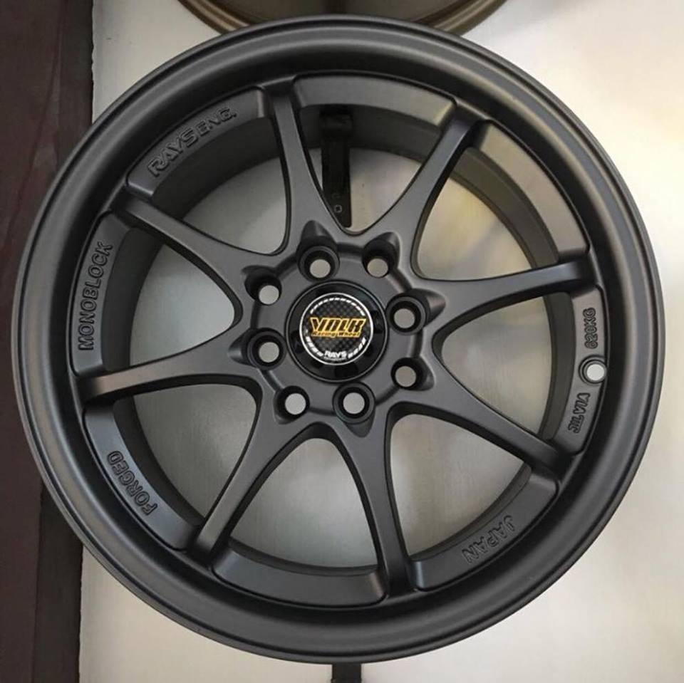 RAYS Mag Wheels CE28 15s Black 1set (4pcs Mags)