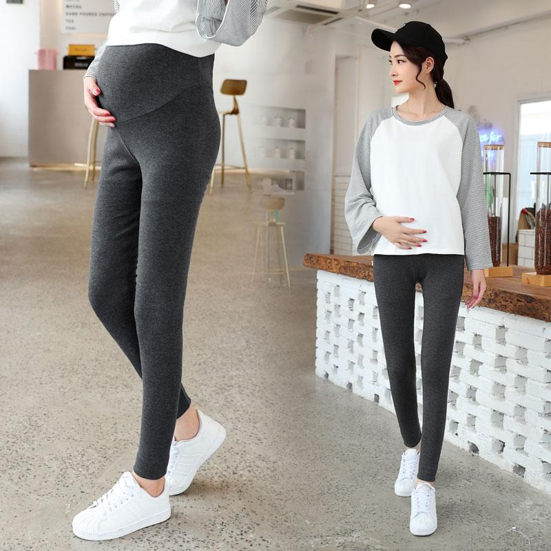 e033e8f56b032 Leggings for Pregnant Woman 2018 New Style Autumn Clothing Pure Cotton  Ultra-stretch Maternity Pants