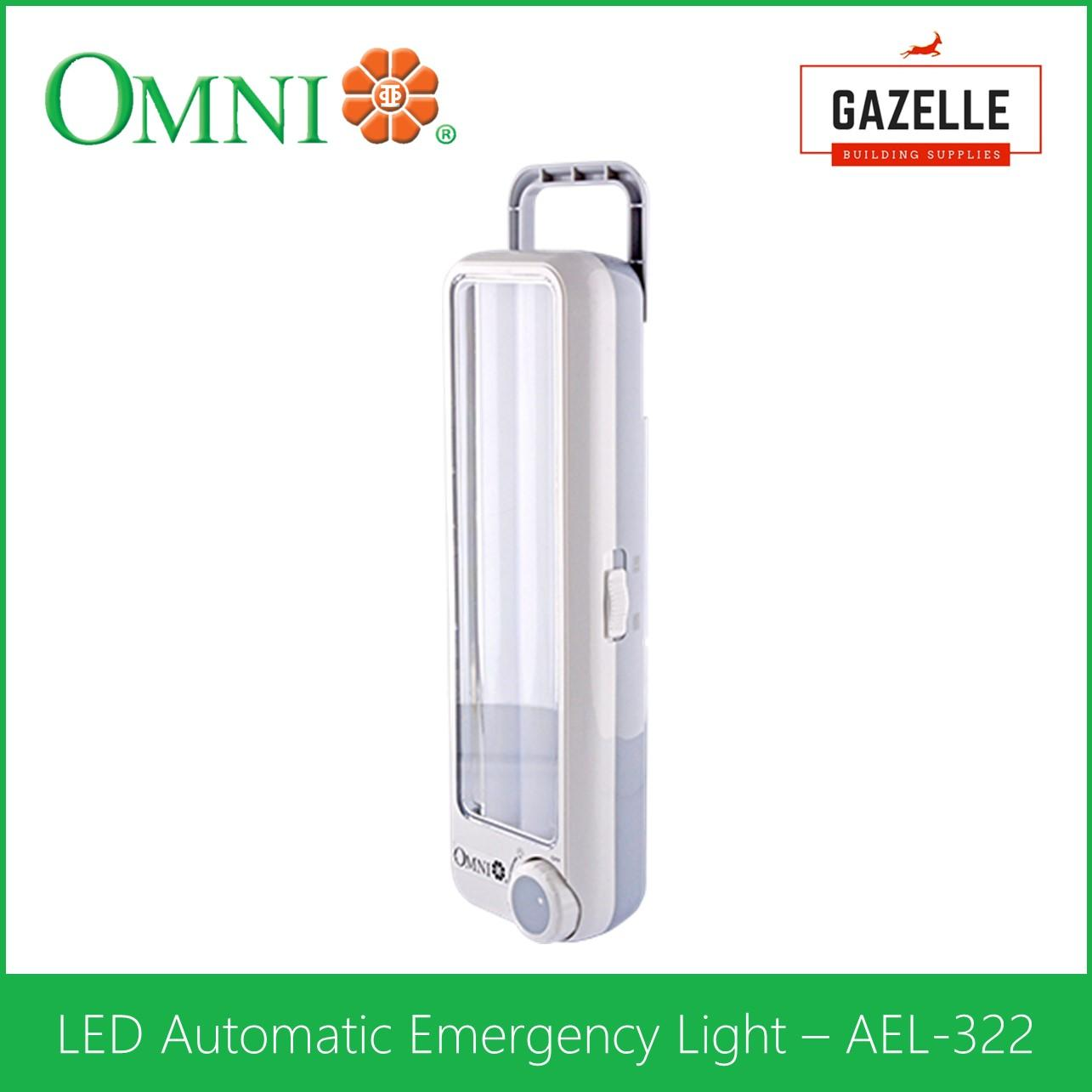 Buy Sell Cheapest Omni Automatic Rechargeable Best Quality Product Low Cost Emergency Ligh Portable Lamp Light W Rotary Switch Ael 322