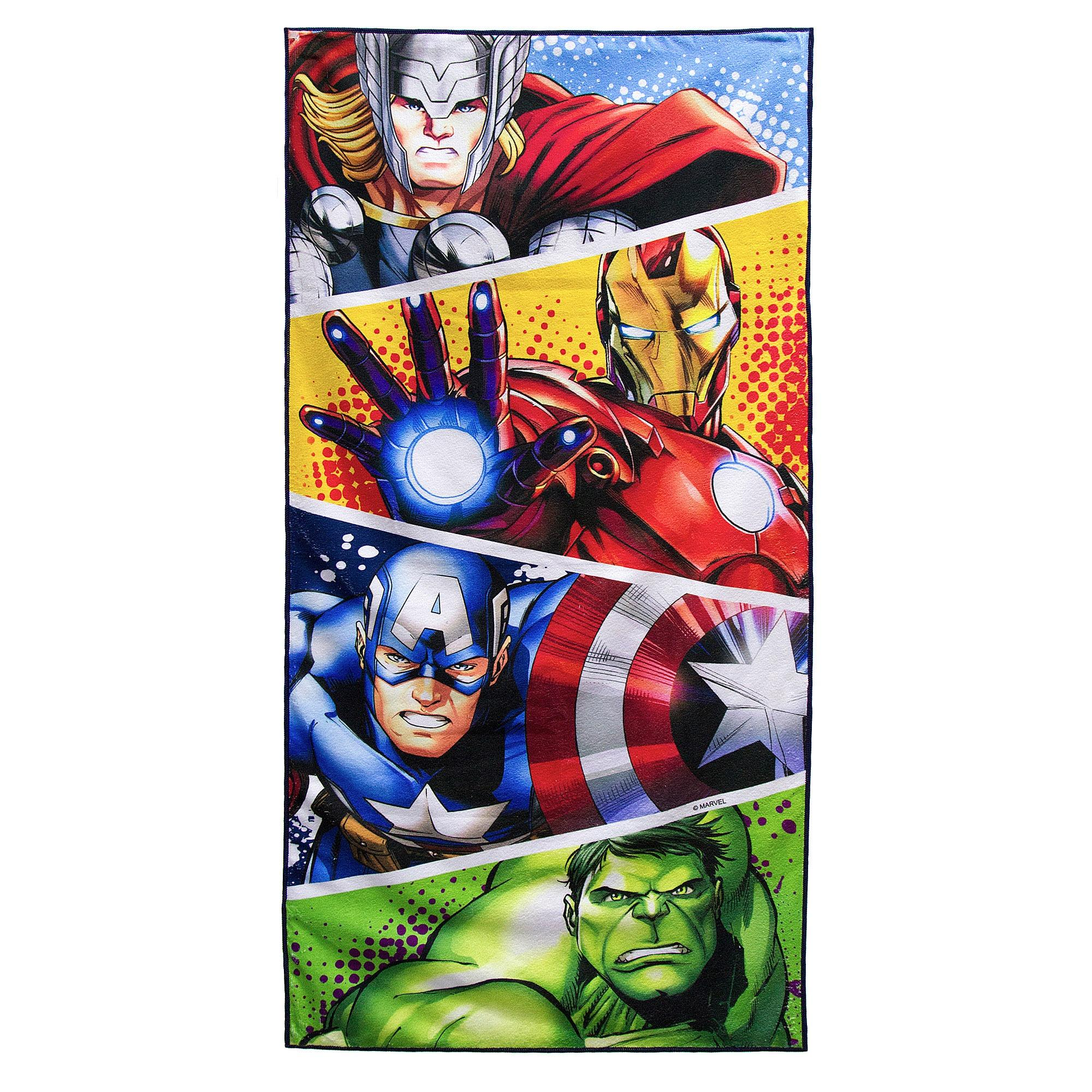the latest 8a9a7 f91ca Marvel Avengers Bath Towel ...