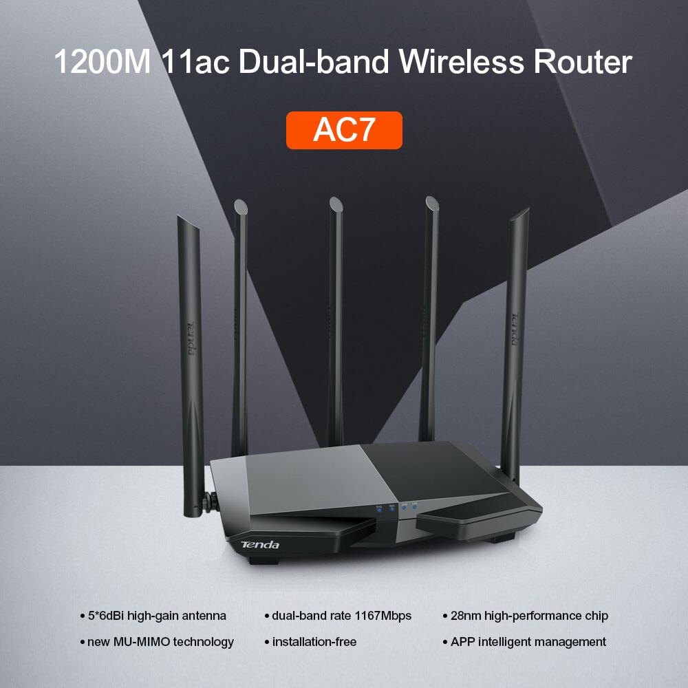 Tenda Philippines Price List Ethernet Hub Wireless Router Ac6 Ac7 1200mbps Wifi