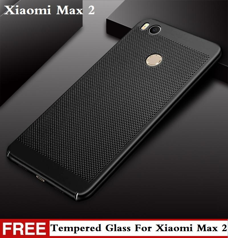【Free Tempered Glass】Xiaomi Mi Max 2 Case New Heat Dissipation Phone Case Xiaomi