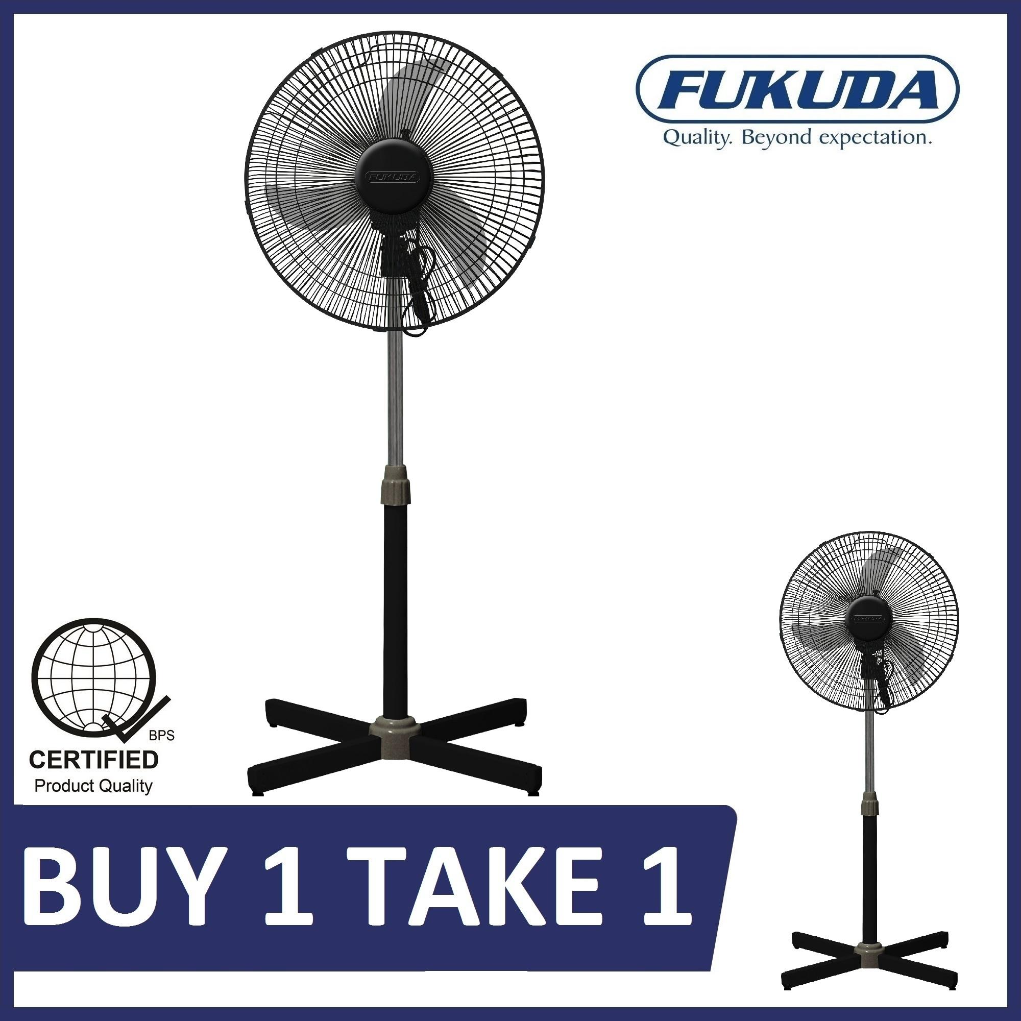 Fan For Sale Electric Prices Brands Review In Philippines Solar Attic Battery Backup System Components Fukuda Sf164xs 16 Banana Blade Plastic Stand Black Buy 1 Take