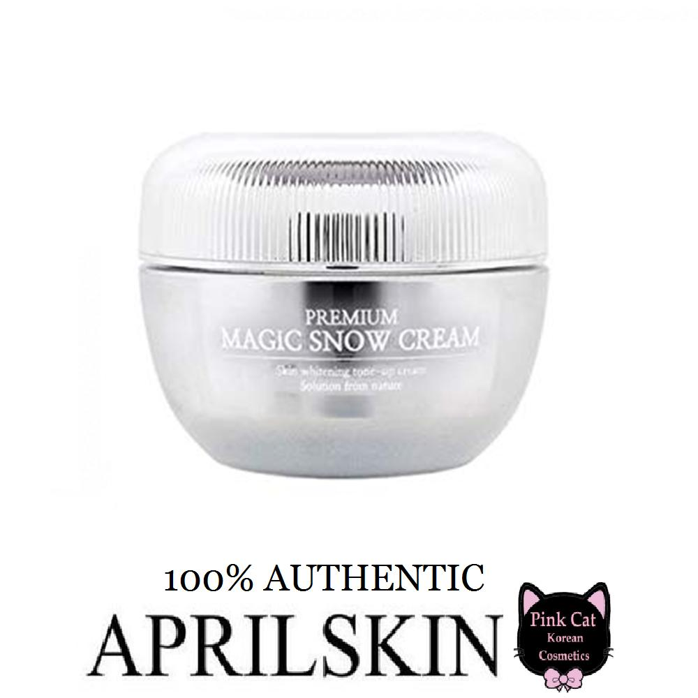 Moisturizers Brands Lotions And Cream On Sale Prices Set Korea 2 In 1 Premium Korean Cosmetics April Skin Magic Snow 45ml