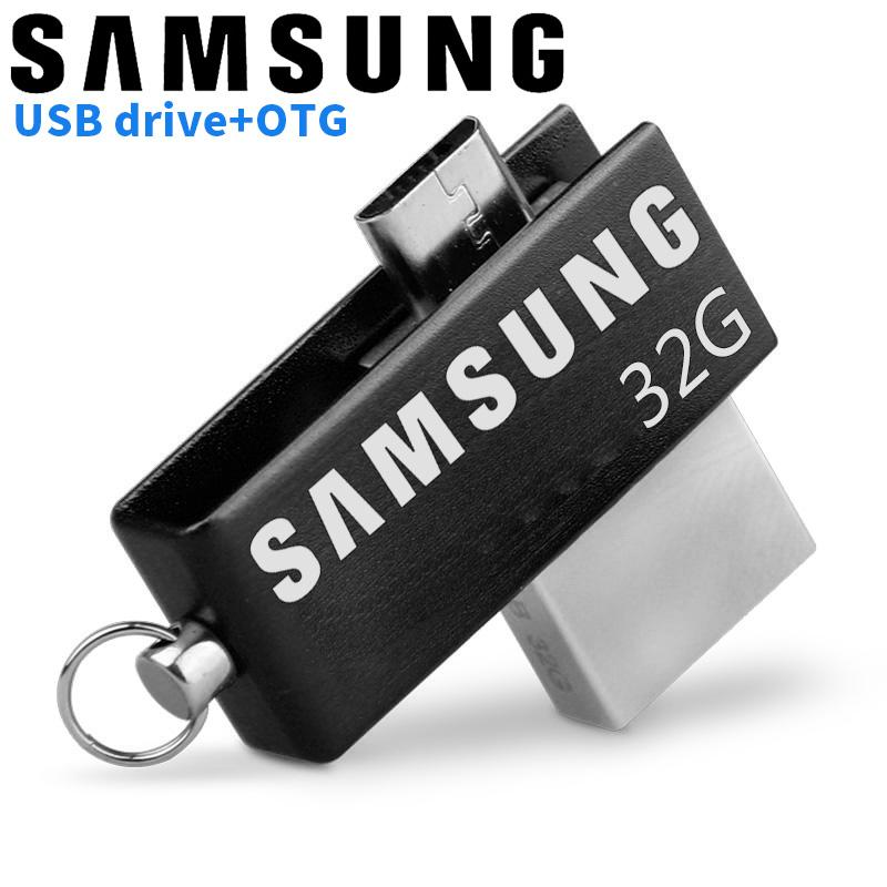 SAMSUNG 32GB OTG External Storage Usb Memory Stick U Disk Pen Drive Pendrive Usb Flash Drive