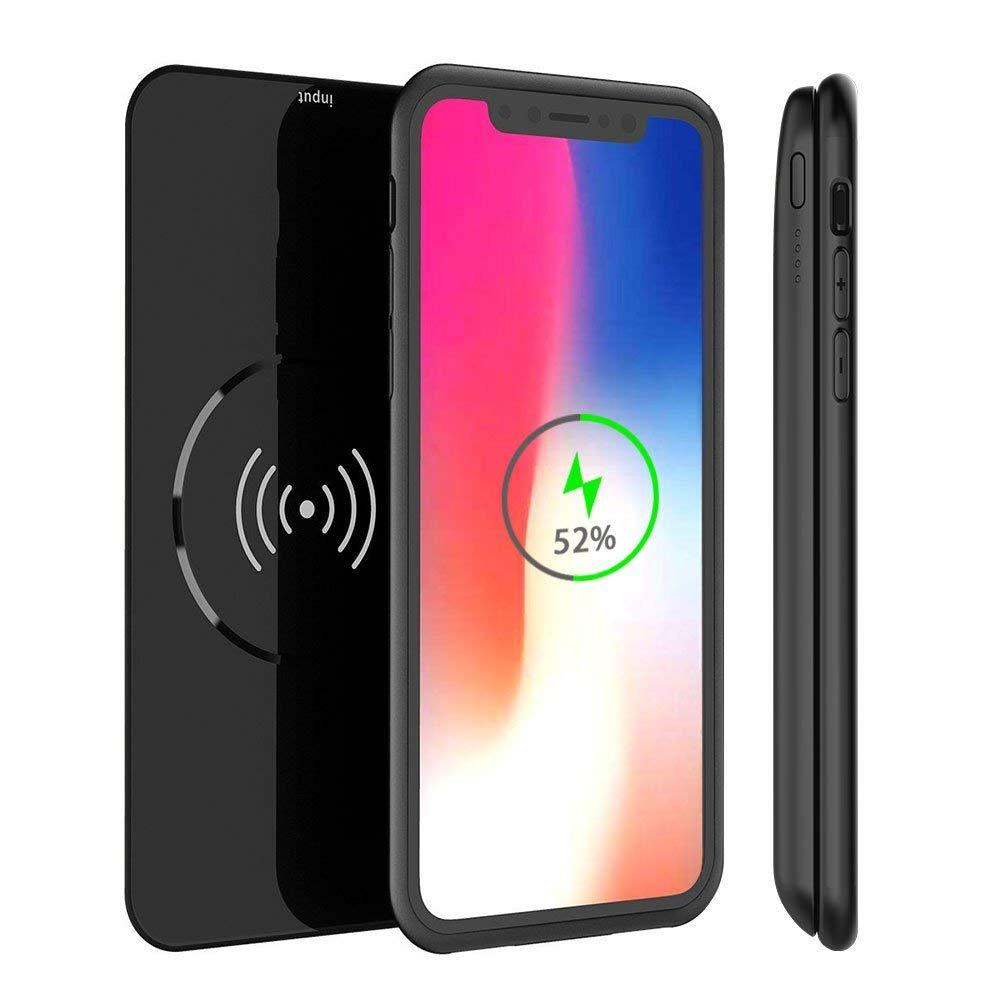 0efa40727 Battery Case for iPhone X 5000mAh Qi Wireless Charger Power Bank
