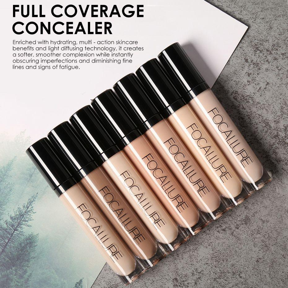 Focallure Perfect Cover Face Concealer Cream Oil Control Face&Eyes Contouring Liquid Foundation Concealer Corrector Philippines