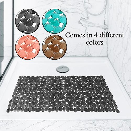 Primeo Non-Slip Pvc Bath Mat Or Shower Mat With Suction Cap (68x35) By Sunbeams Impex Inc..
