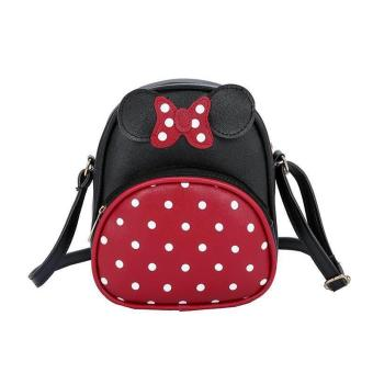 Skyway #436 Cute & Mini Ribbon  With Polka Dots Design Fashion Mini Sling Bag