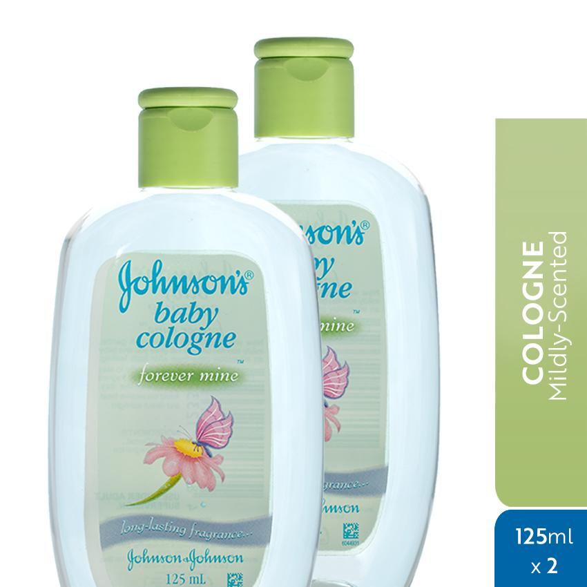 Johnsons Baby Cologne Forever Mine 125ml X 2 By Johnson & Johnson Ph Official Store.