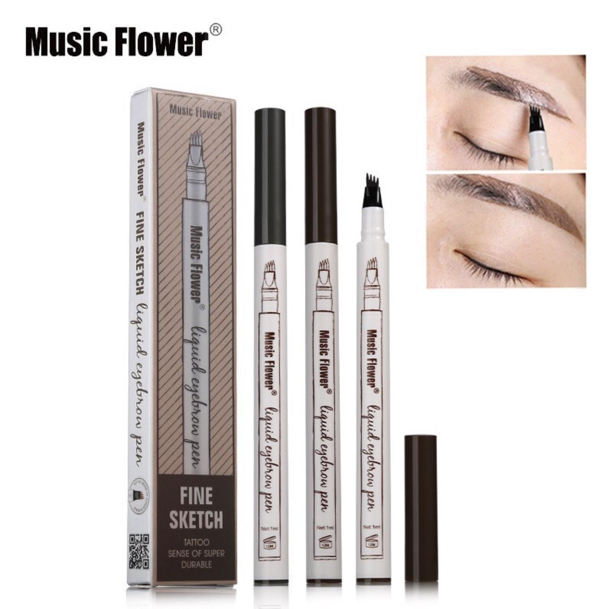 Music Flower #1 Chestnut Eyebrow Pen Waterproof-Edison Online Shop Philippines