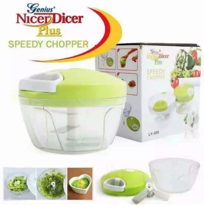 Speedy Chopper Nicer Dicer (genius) By Bodybuy.net.