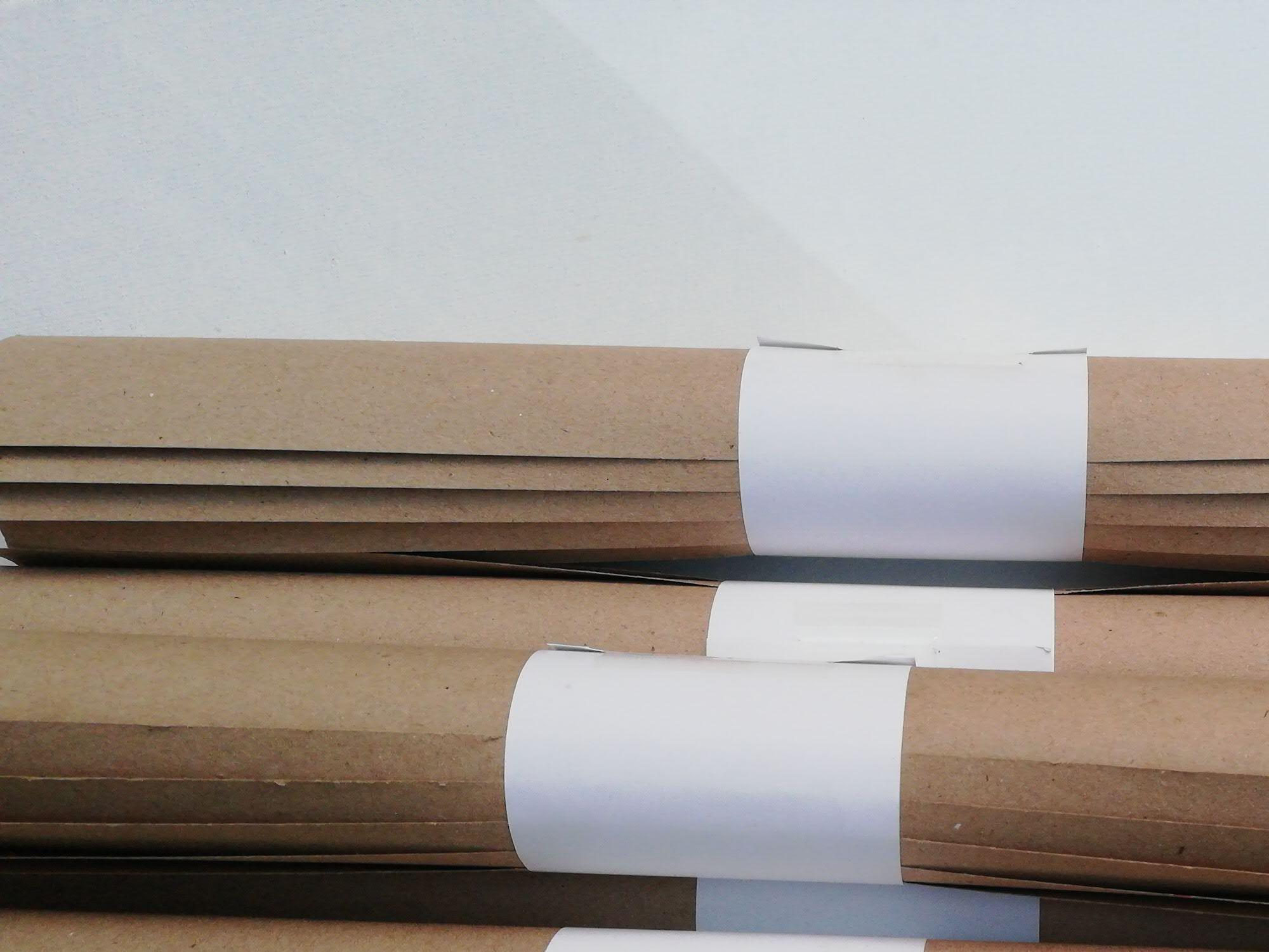 Samutsari Kraft Paper Large Sheet - 5 Pcs/roll (size: 13x19 Inches) By Samutsari .