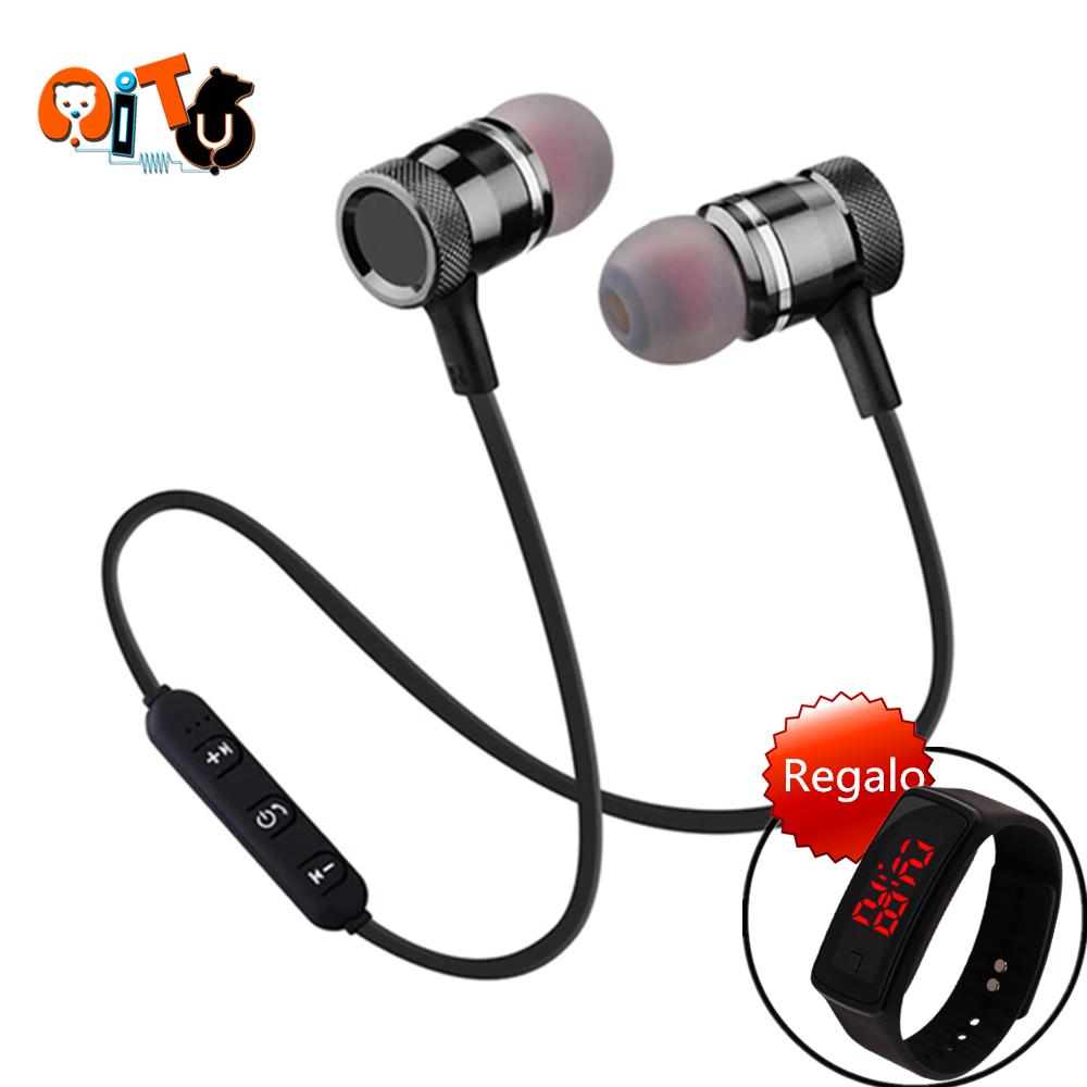 Audio Device For Sale Music Devices Prices Brands Specs Txt 36 Volt Battery Wiring Diagram Aitu M1 Wireless Bluetooth Headset Sweat Proof Earphone With Microphone Led Watch 1pcs