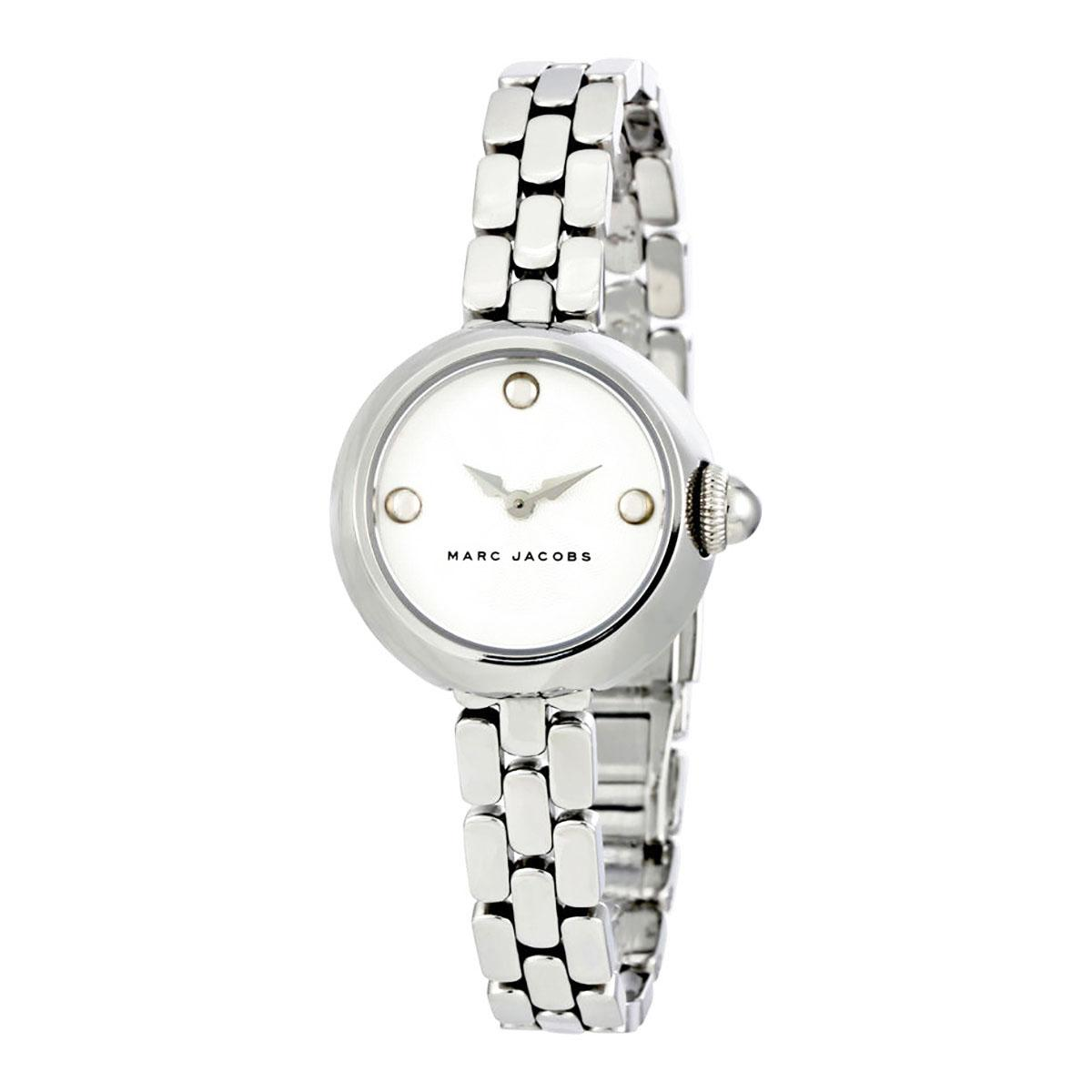 3007cee44 Marc Jacobs Courtney Silver Stainless-Steel Case Stainless-Steel Bracelet  Ladies MJ3456