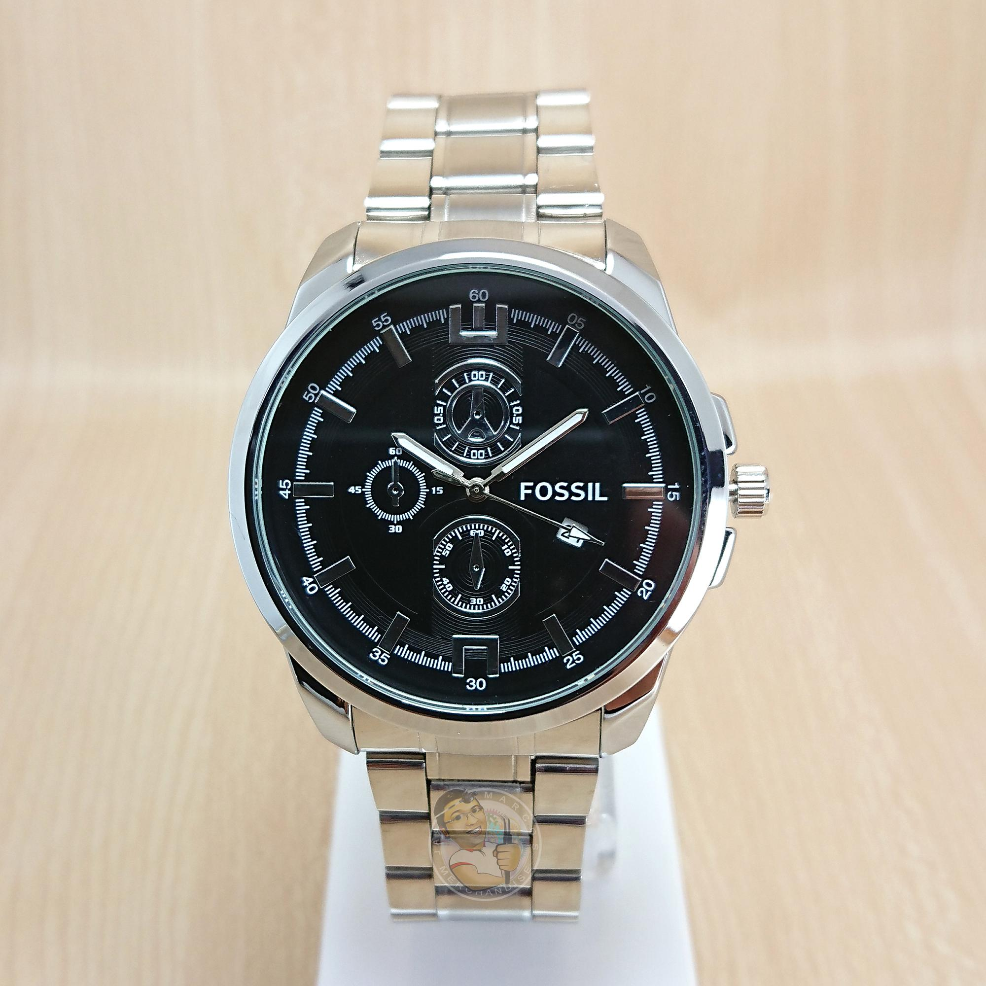 Fossil Philippines Watches For Sale Prices Reviews Lazada Es3380 Original Boyfriend Chronograph Rose Tone Men Silver White Black Analog Watch Water Resistantl2s
