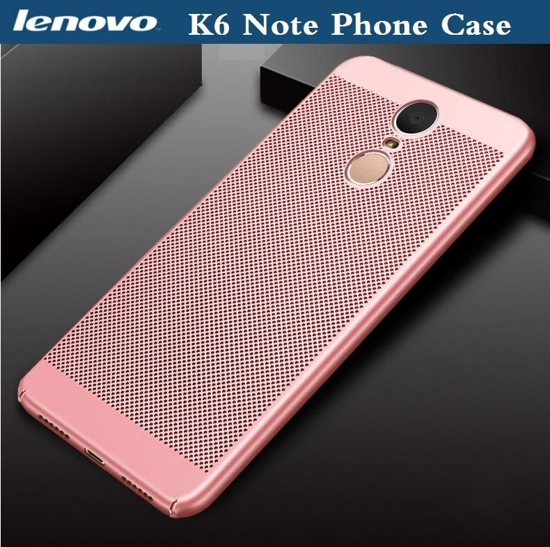 Lenovo K6 Note Phone Case Lenovo K6Note Hard Case Phone Cover Tempered Glass For Lenovo K6