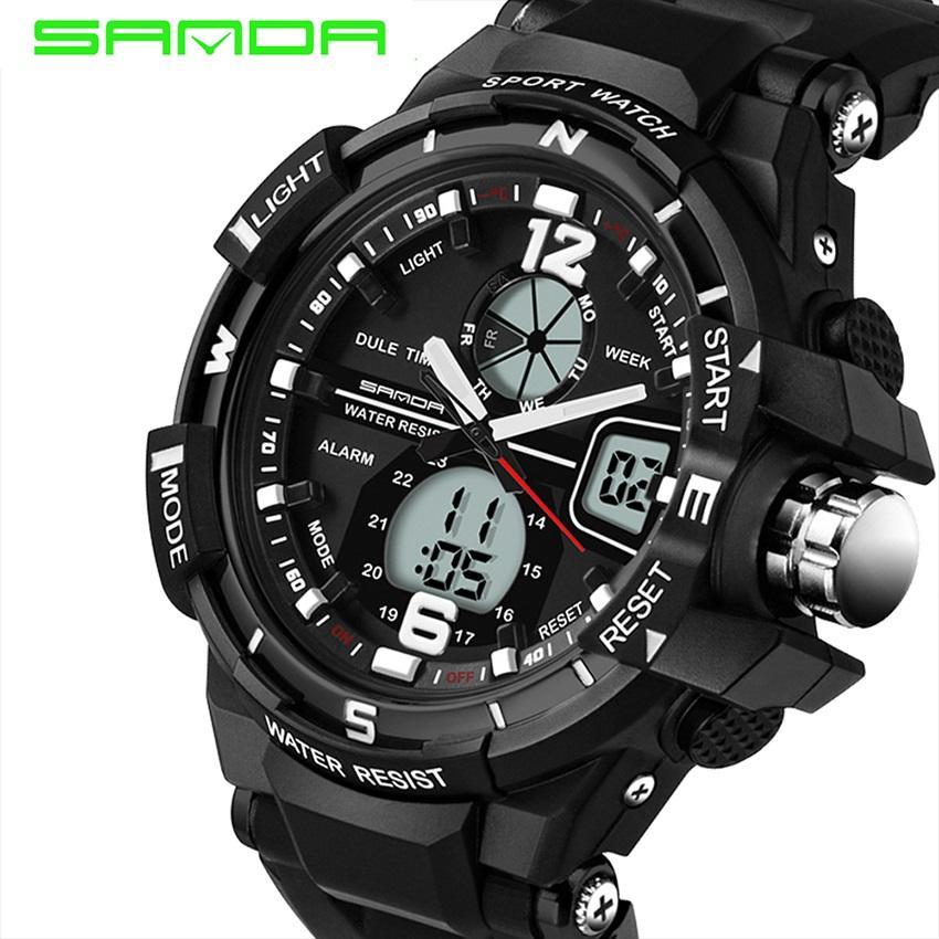 14801b13d29 Promotion SALE ! Free shipping ! SANDA 289 Fashion Outdoor Multi-functional  Sports Men S Electronic
