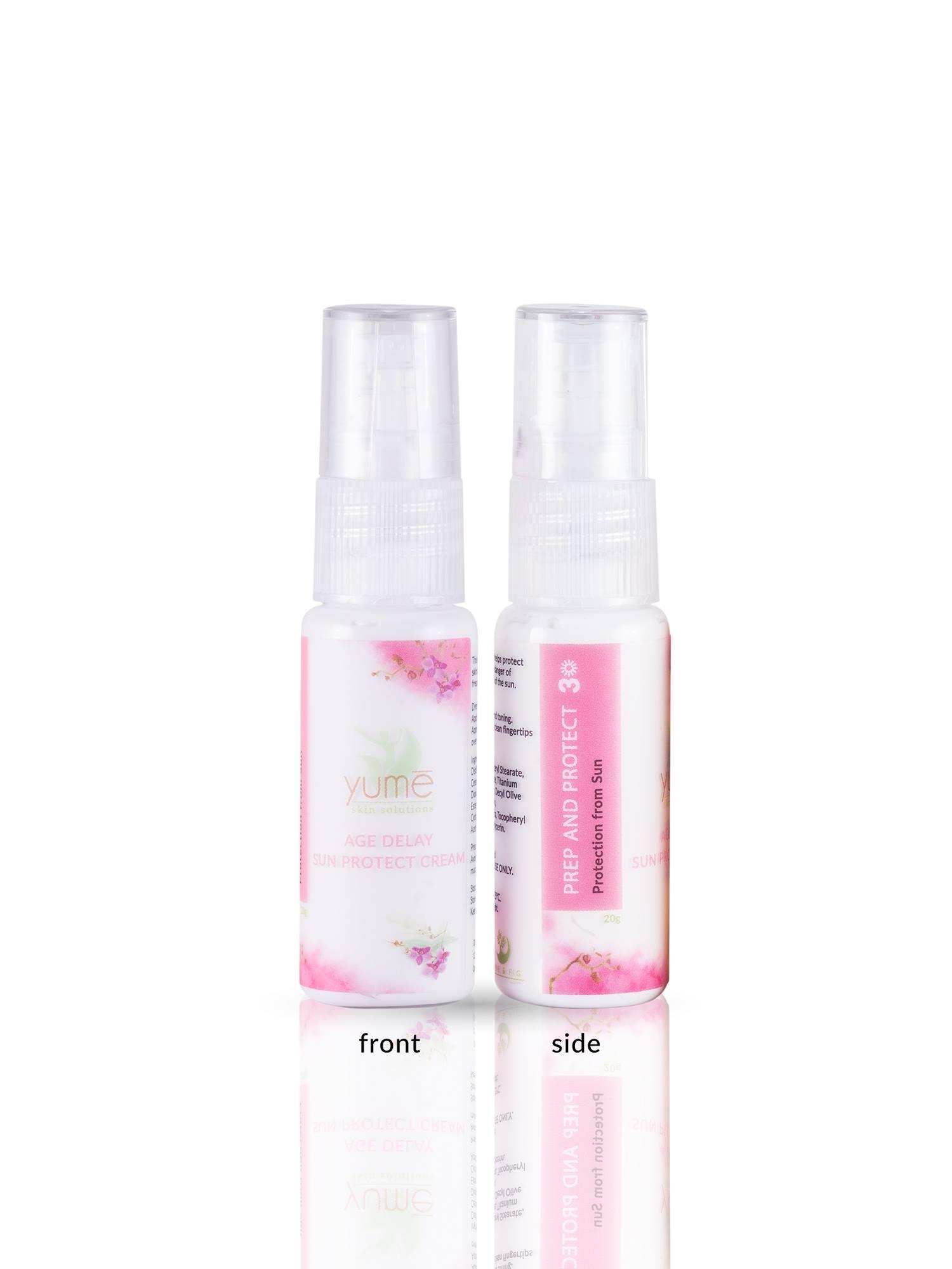 Age Delay Sun Protect Cream By Yume Skin.