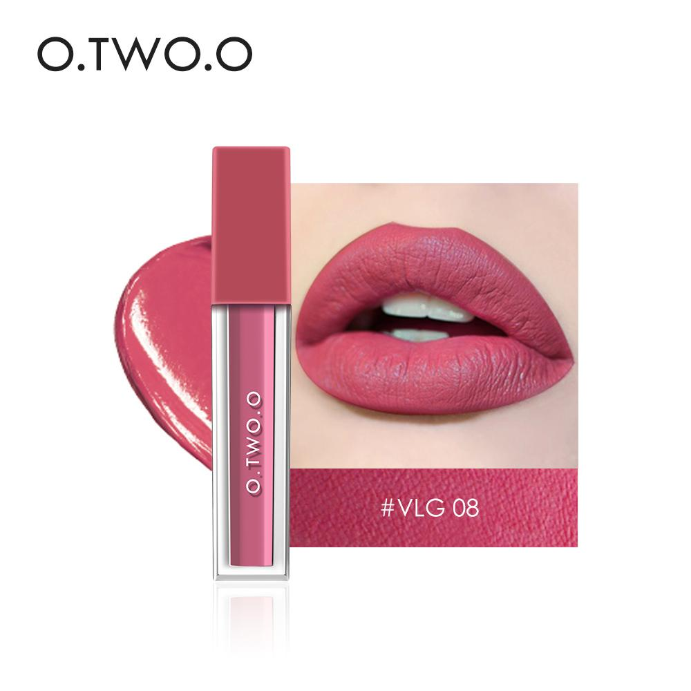 O.TWO.O Velvet Matte Lipstick Waterproof kiss proof Lipsticks Moisturize Make Up lip Long lasting Philippines