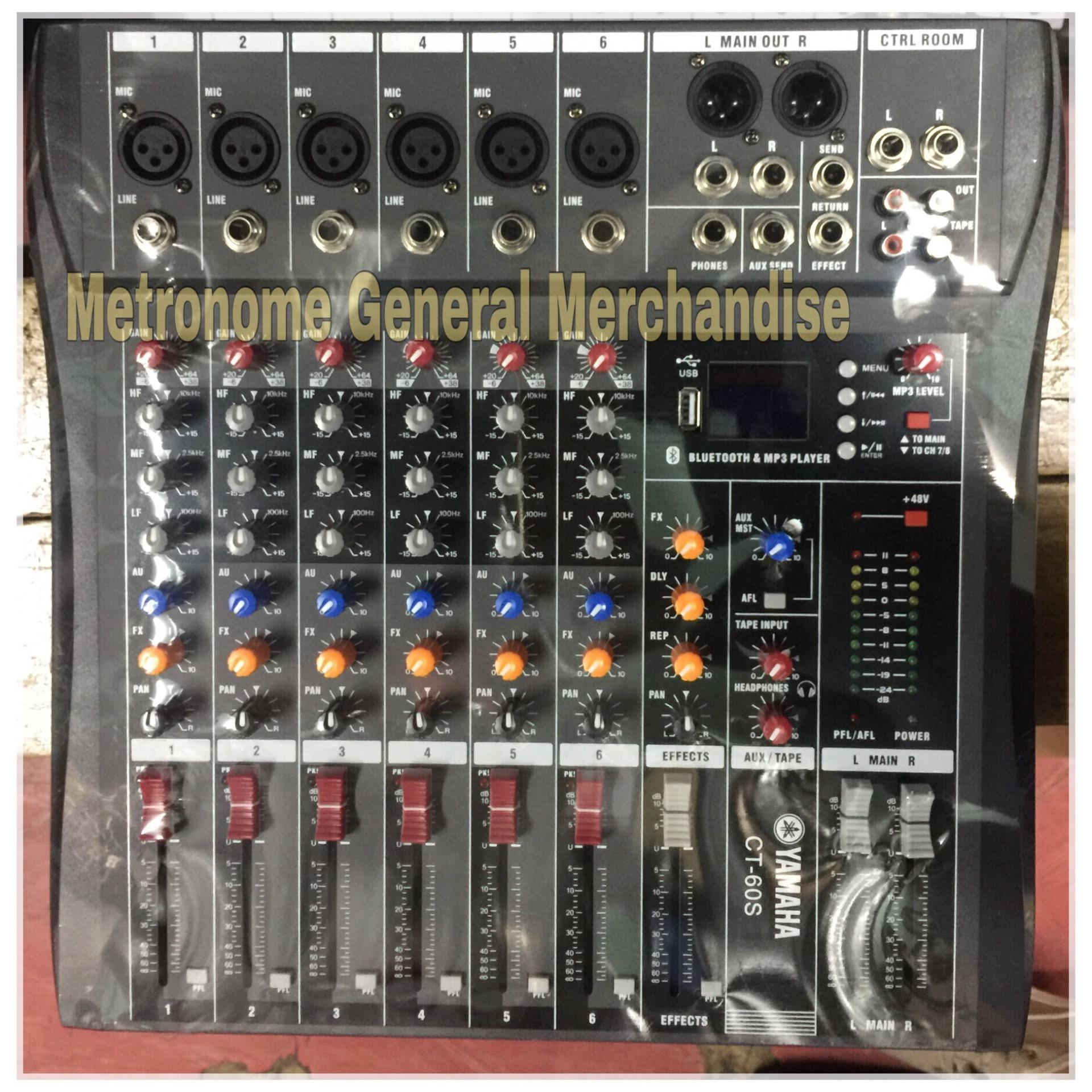 Yamaha Philippines Mixers For Sale Prices Reviews Lazada Mg16xu Ct 60s Mixer With Freebie