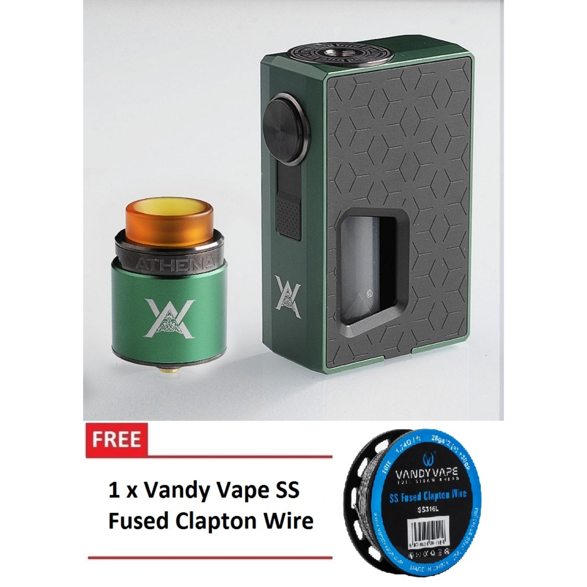 Buy Sell Cheapest Geekvape Clapton Wire Best Quality Product Deals Peerless 24mm Rda Atomizer Vape Authentic Brand New Athena Squonk Kit By Gun Metal With Free Vandy Ss Fused