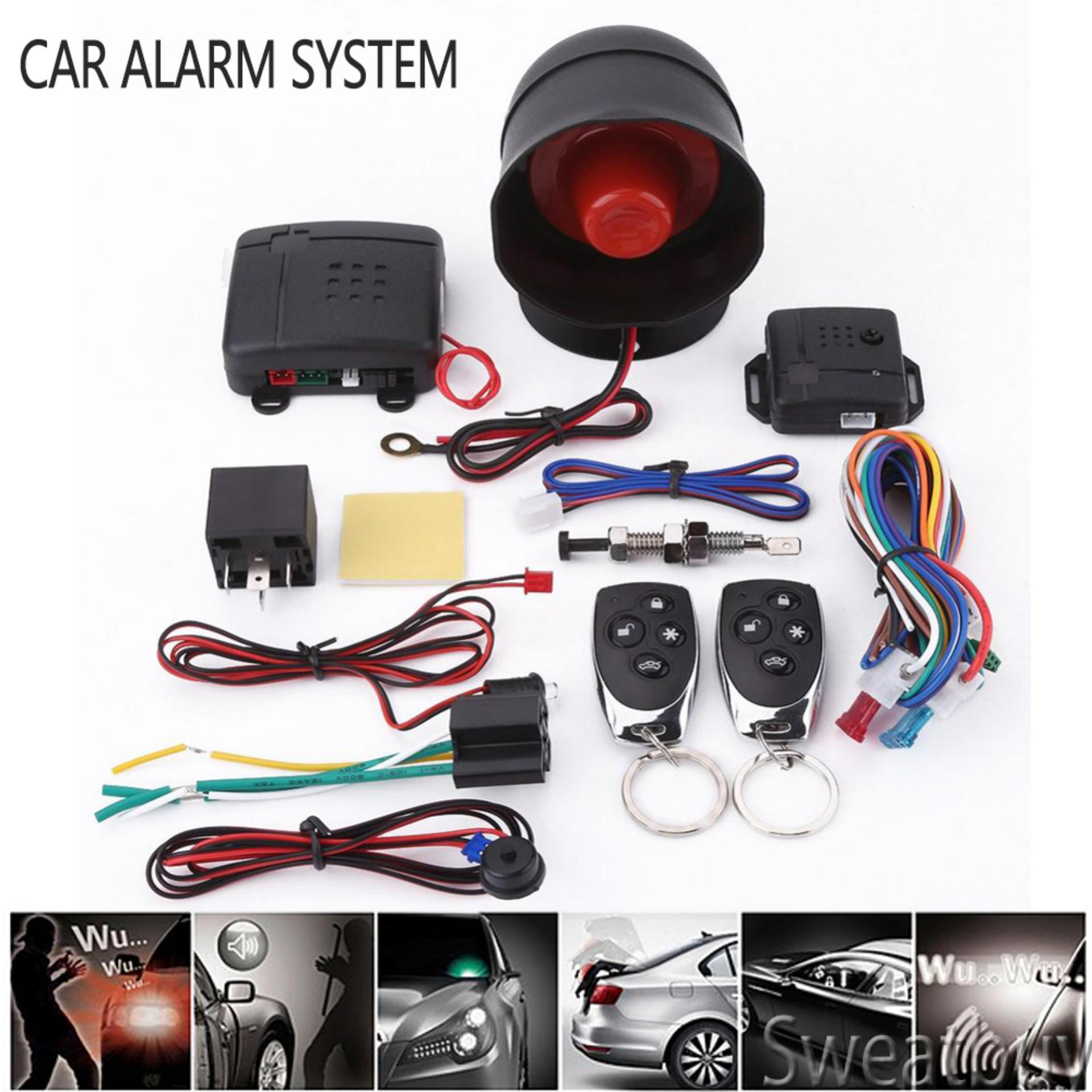 Alarm System For Sale Car Accessories Online Brands Reverse Parking Sensor Circuit Security Promotionsuniversal Protection Keyless Entry With 2 Remote Controls Siren