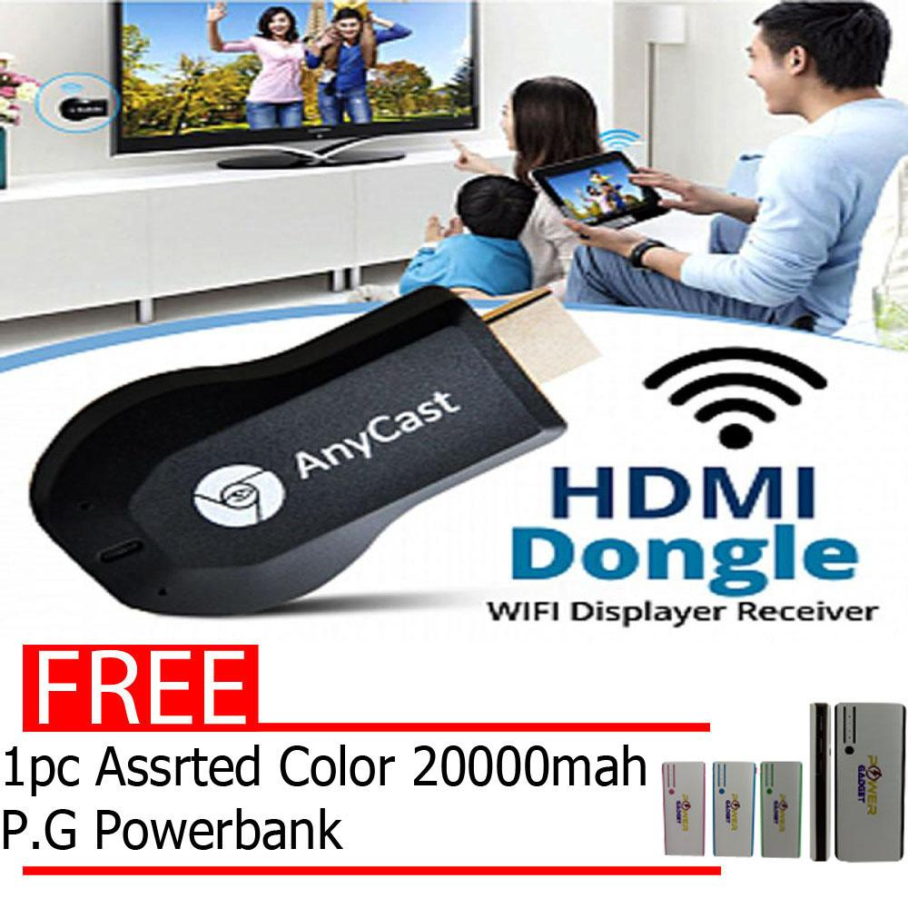 Anycast Philippines Price List Media Players Projectors Wifi Display Receiver Hdmi Dongle Latest 1080p Cast For Smartphones Chromecast With Free 1pc Assrtd Color 20000mah