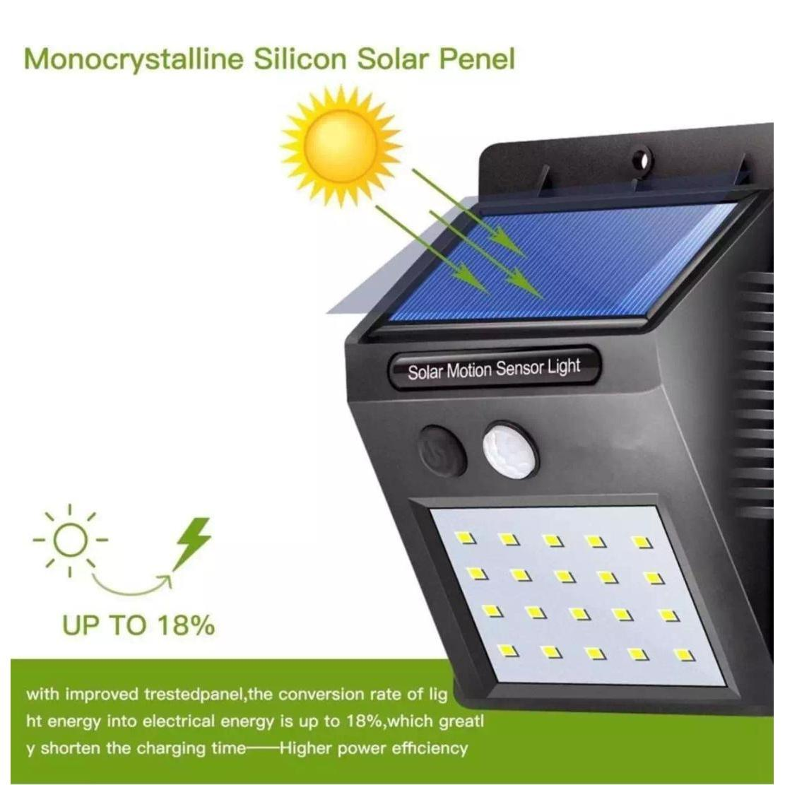 Outdoor Lighting For Sale Lights Prices Brands Review Have Replaced An Outside Security Pir Light Twin New Sensor Wall 20 Led Waterproof Rechargeable Solar Power Motion Garden Lamp