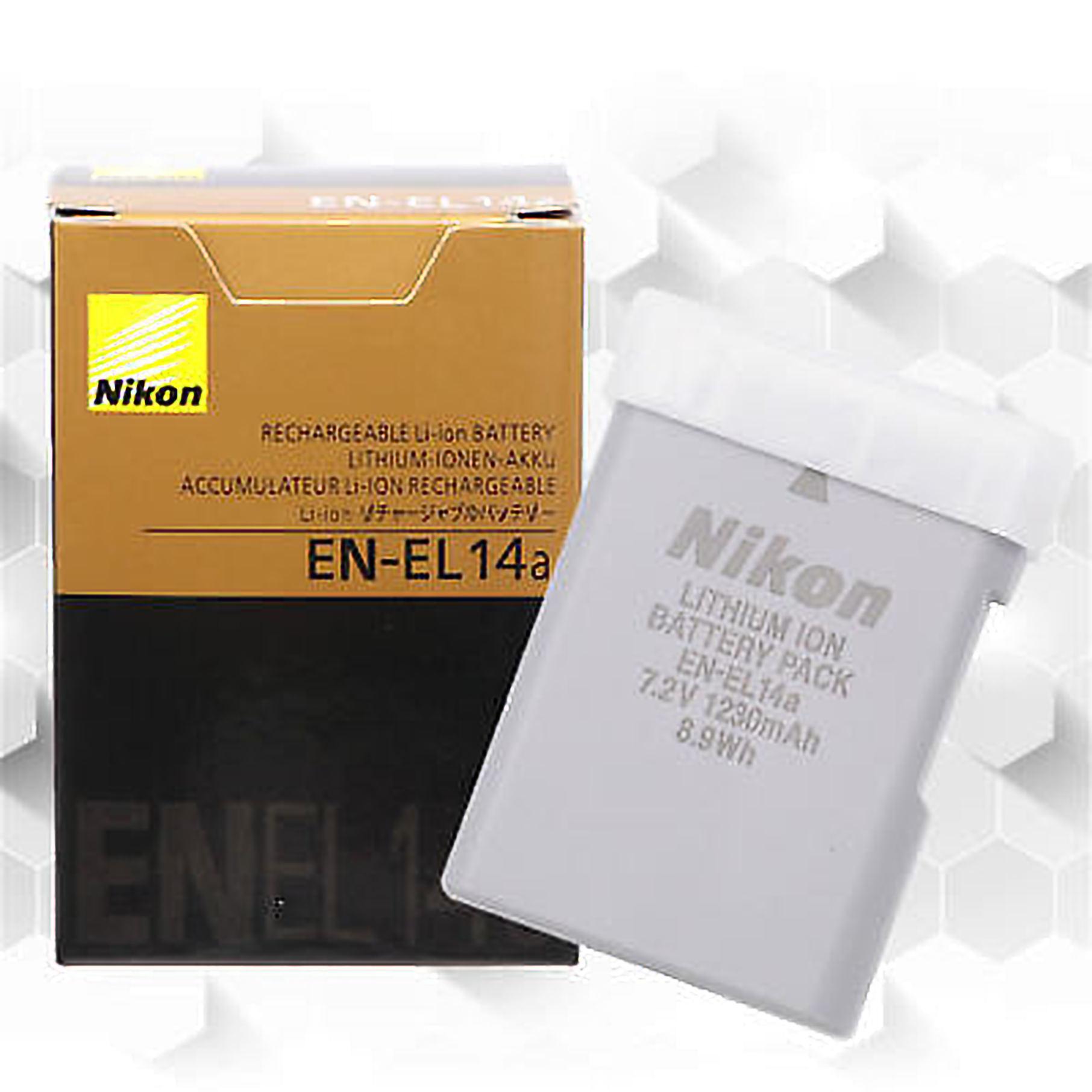 NIKON EN-EL14A ENEL14A Battery for NIKON Df D3400 D3300 D5600 D5200 D5300  D5500 D3100
