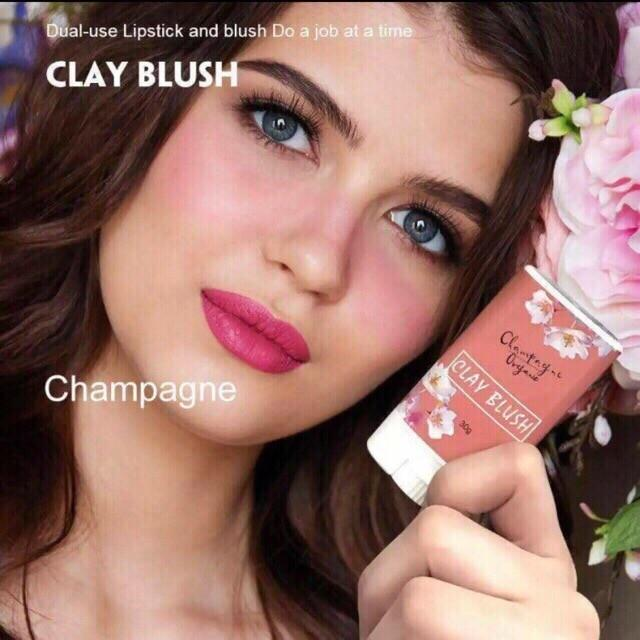 Original sunkissed automn clay blush luna clay brush 30g (champagne) Philippines