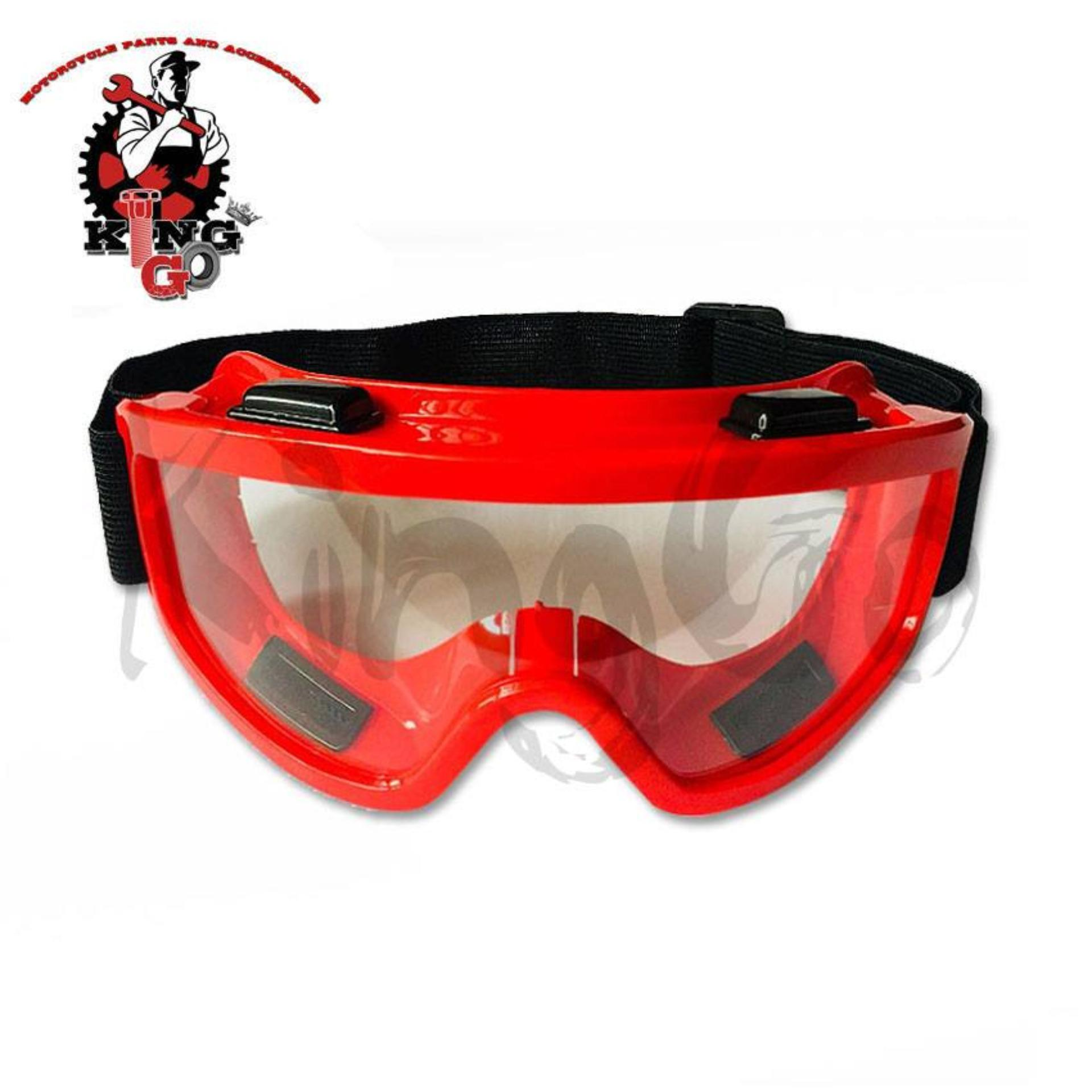 RED Motorcycle Goggles Safety Glasses