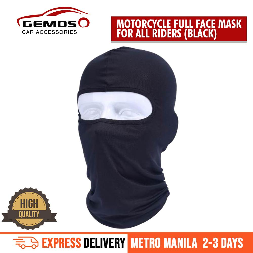 Sports Face Mask For Sale Protective Masks Online Brands Prices Masker Polar 6 In 1 Premium Quality Motorcycle Full Black