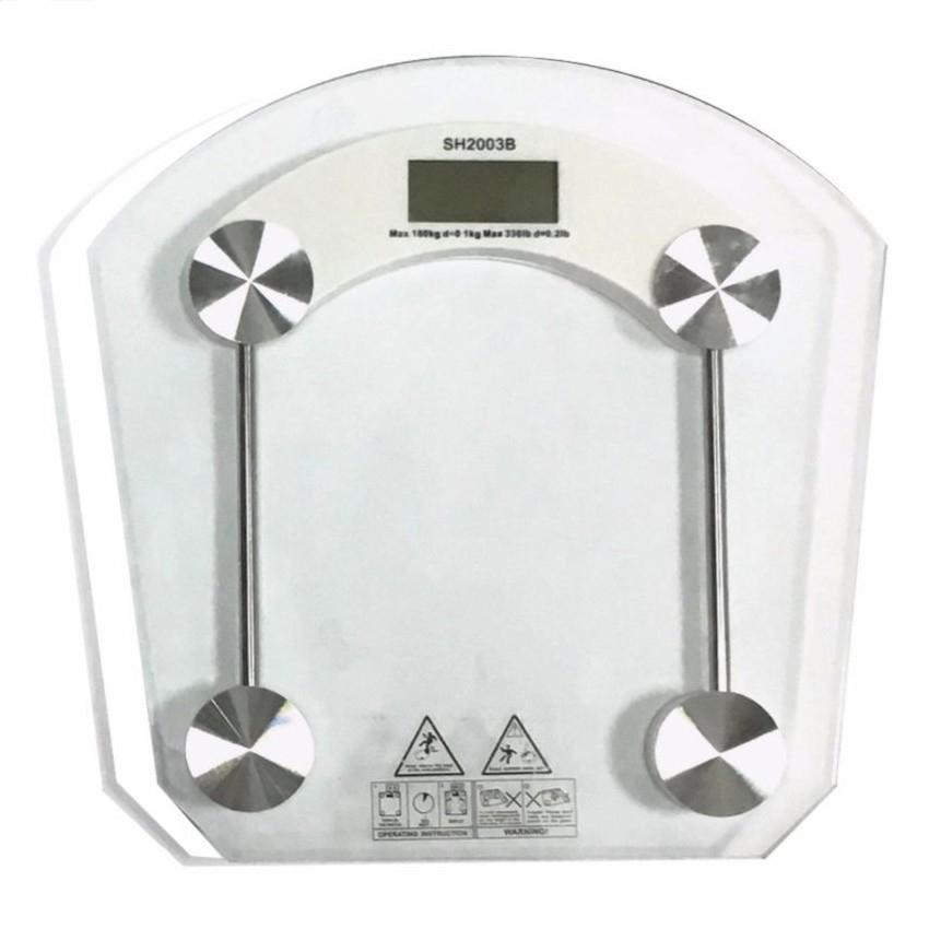 2003b High-Precision Personal Weighing Scales (clear) By Mens Locker Room.