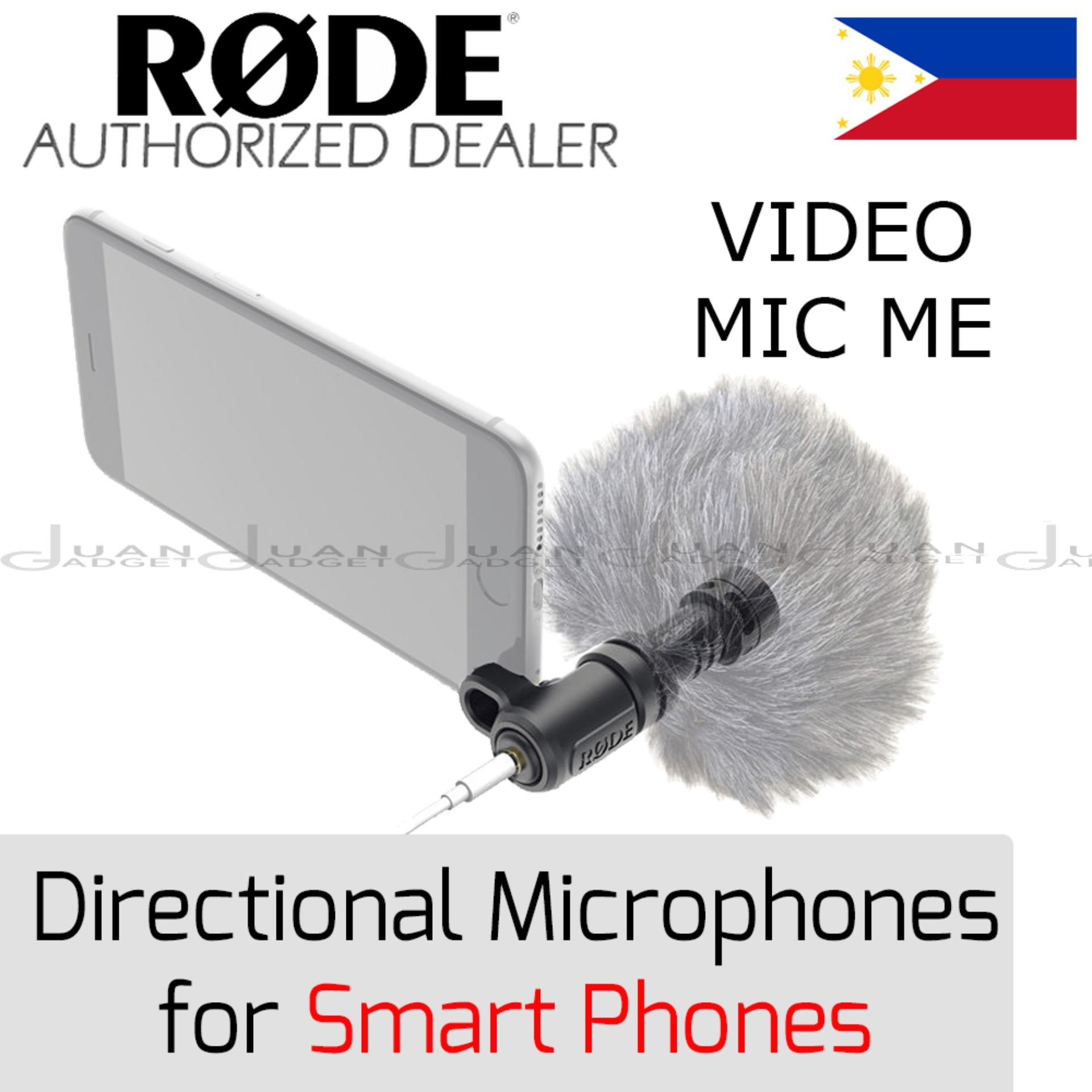 Rode Philippines Price List Microphone For Sale Lazada Mic Videomicro Video Micro Videomic Me Directional Smart Phones