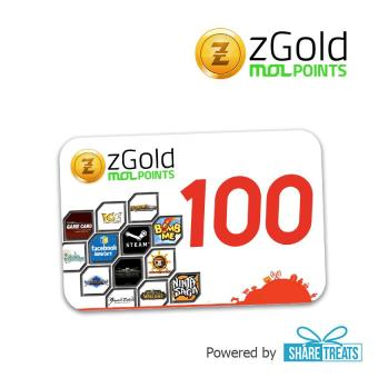 zGold MOL 100 Points SMS ePIN