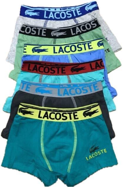 Underwear Brief Lacoste Boxer 6-In-1 By H&r Promall.