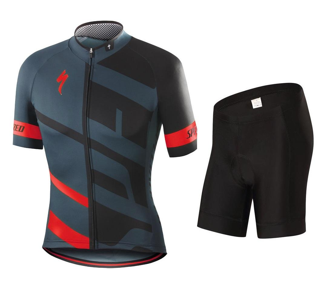 Men Cycling Jersey and Non Bib Shorts Set Quick Dry Gel Padded Clothing-FNM  ( 3a74719e7