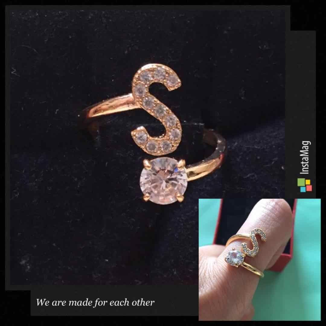 Rings For Women Sale Jewellery Online Brands Prices Cincin Multicolor Tiny Square Austrian Crystal Gold Plated Ring Classa Rosegold Letter Adjustable Free Box