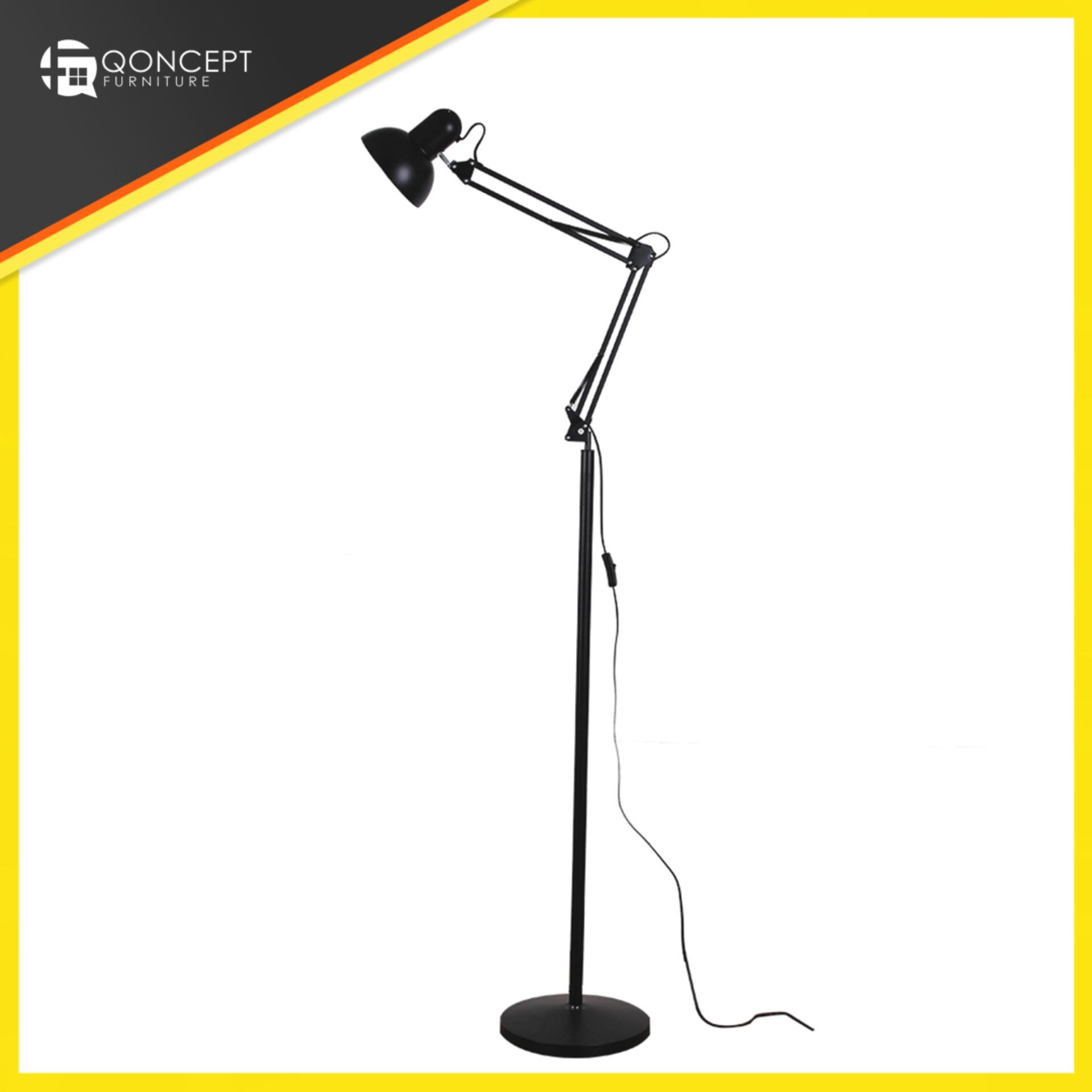 Floor Lamps For Sale Standing Lamp Prices Brands Review Wiring Diagram 6 Way Qoncept Furniture Adjustable Metal