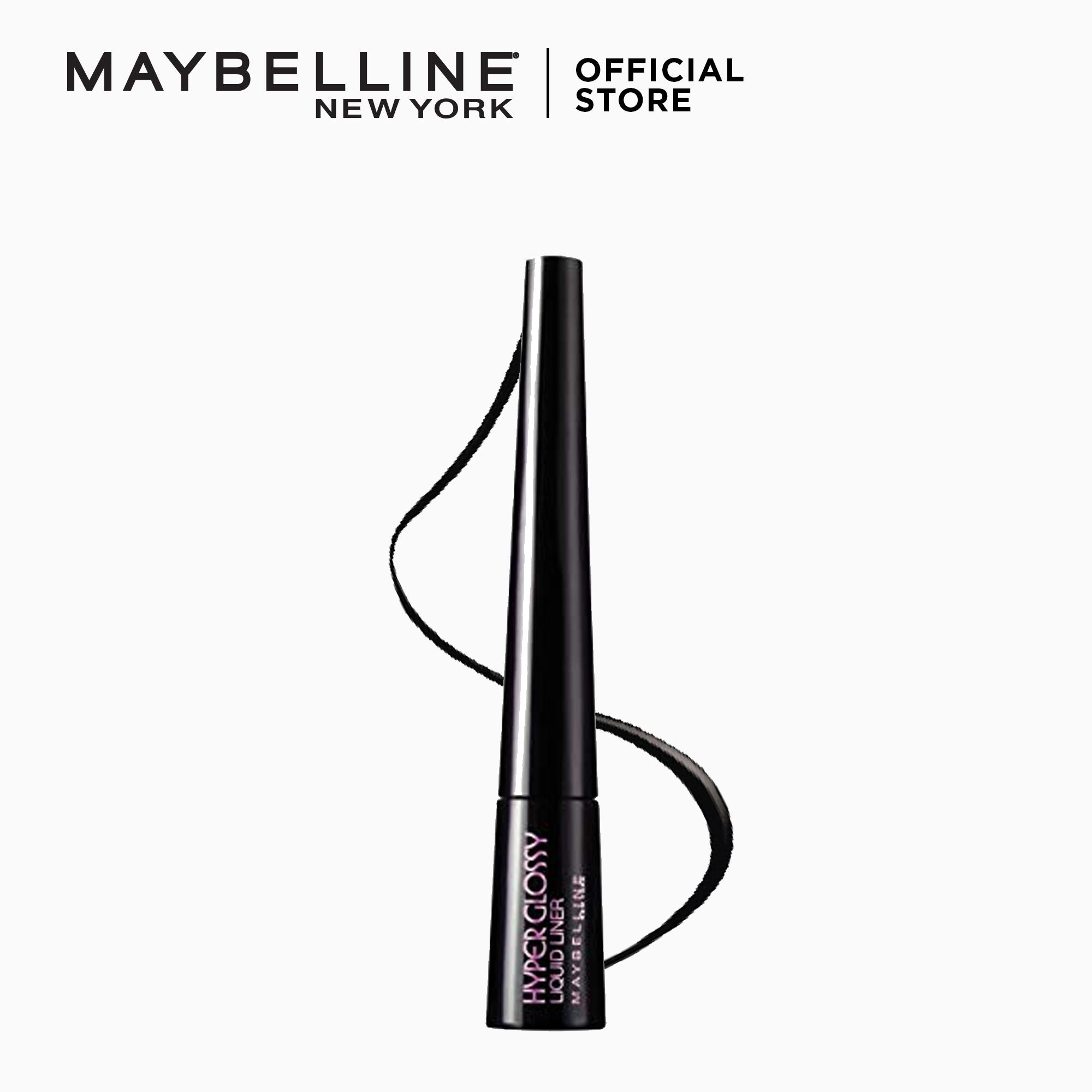 Hyperglossy Liquid Dip Pen Eyeliner - Black [Ultra Glossy] by Maybelline